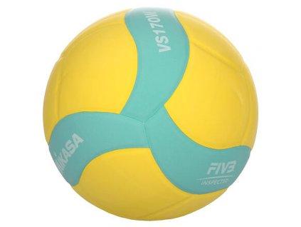 VS170W volejbalový míč zelená-žlutá
