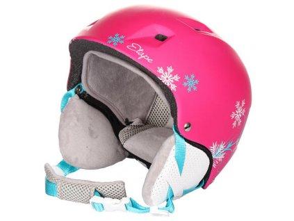 Scamp dětská lyžařská helma růžová
