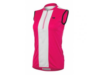 Pretty cyklistický dres růžová