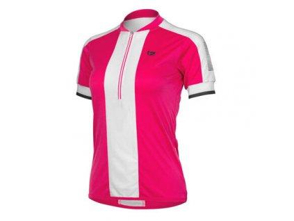 Nelly cyklistický dres růžová
