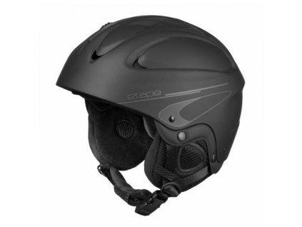Race lyžařská helma černá