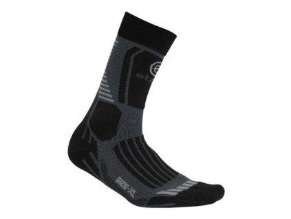 Cross sportovní ponožky šedá