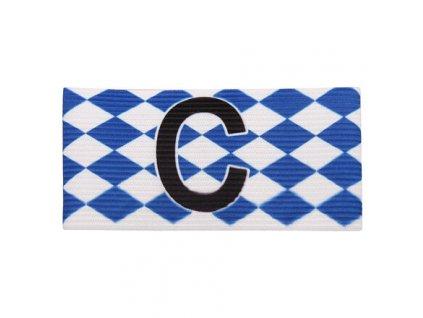 Diamond kapitánská páska modrá-bílá