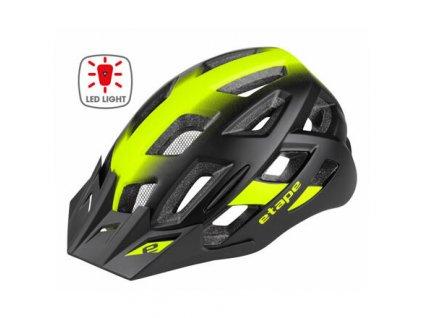 Virt Light cyklistická helma černá-žlutá