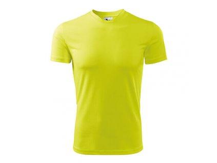 Fantasy pánské triko žlutá neon