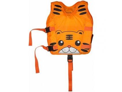 Animal plavecká vesta oranžová