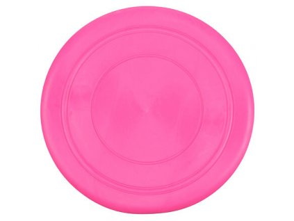 Soft Frisbee létající talíř růžová