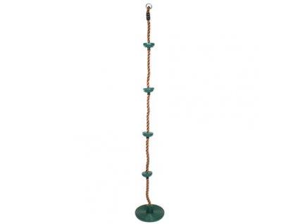 Swing šplhací lano s disky zelená