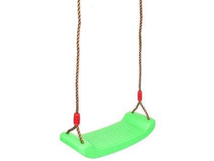 Board Swing dětská houpačka zelená