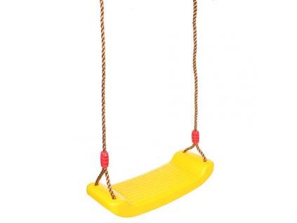 Board Swing dětská houpačka žlutá