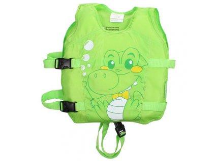Animal plavecká vesta zelená