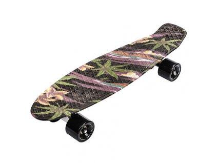 Flip Multi plastový skateboard černá