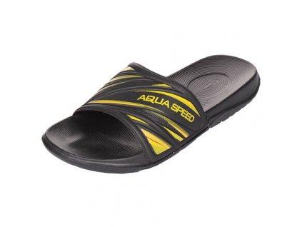 Idaho pánské pantofle černá