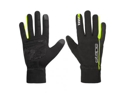 Peak WS+ sportovní rukavice černá-žlutá