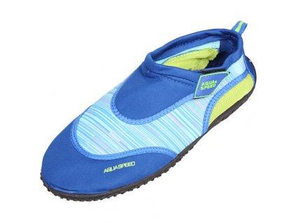 Jadran 2 neoprénové boty modrá