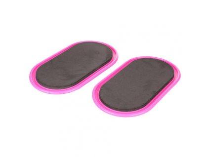 Ellipse Discs klouzavé disky růžová