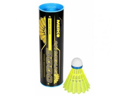 Nimbus 3000 badmintonové míčky modrá