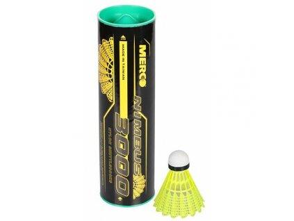 Nimbus 3000 badmintonové míčky zelená