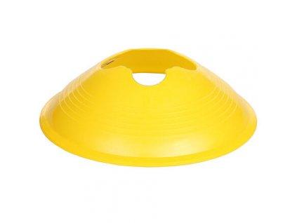 Disc vytyčovací mety 6 cm žlutá