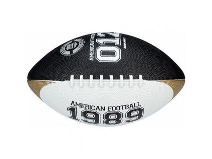 Chicago Large míč pro americký fotbal černá-bílá