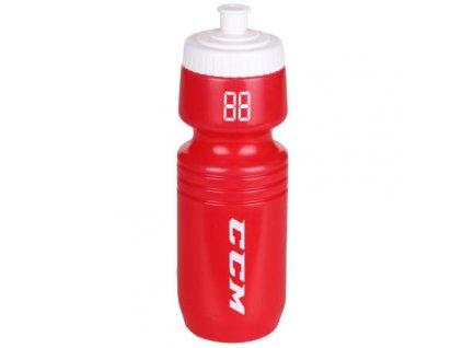 Sportovní láhev bidon červená-bílá
