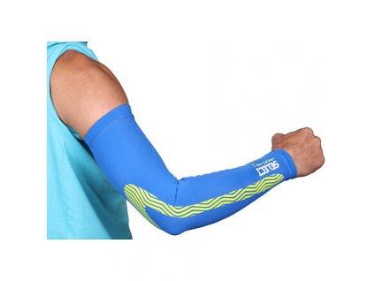 Compression Sleeves kompresní návleky na ruce modrá