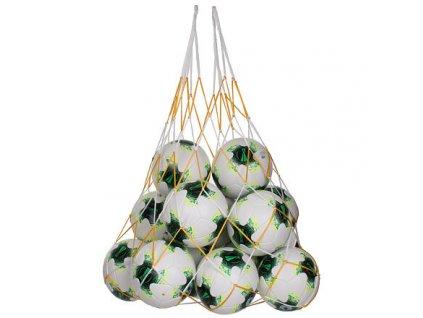 Big Ball Pocket síť na míče žlutá