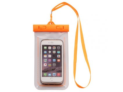 Around pouzdro na telefon oranžová