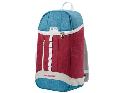 Arctic 20L chladící batoh červená-modrá