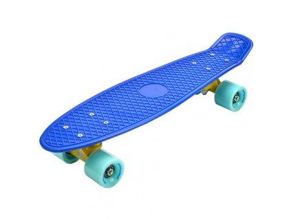 Flip plastový skateboard navy