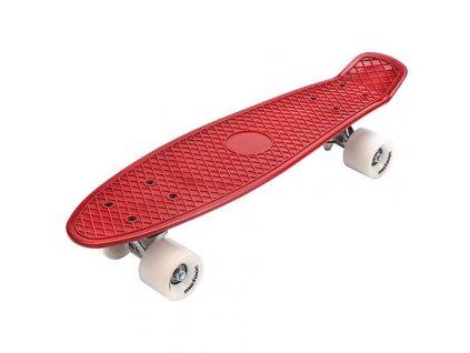 Flip plastový skateboard červená-bílá