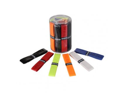 Exclusive overgrip omotávka tl. 0,6 mm / box 24 ks mix barev