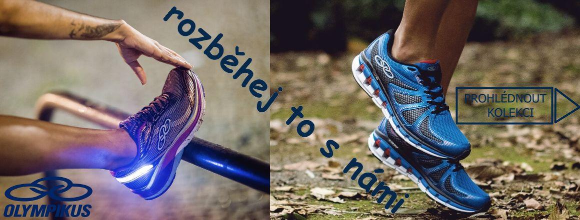 běžecká a sportovní obuv, fitness boty Olympikus