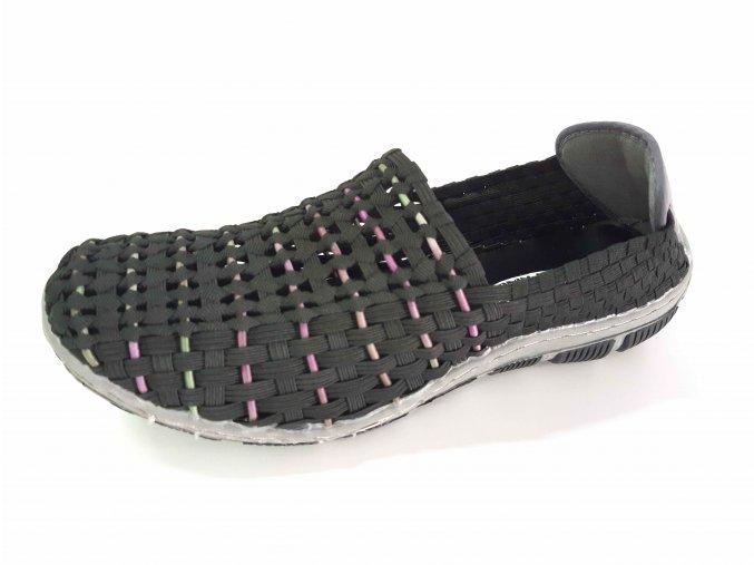 Rock Spring gumičková obuv Cape Horn T Black Waterman