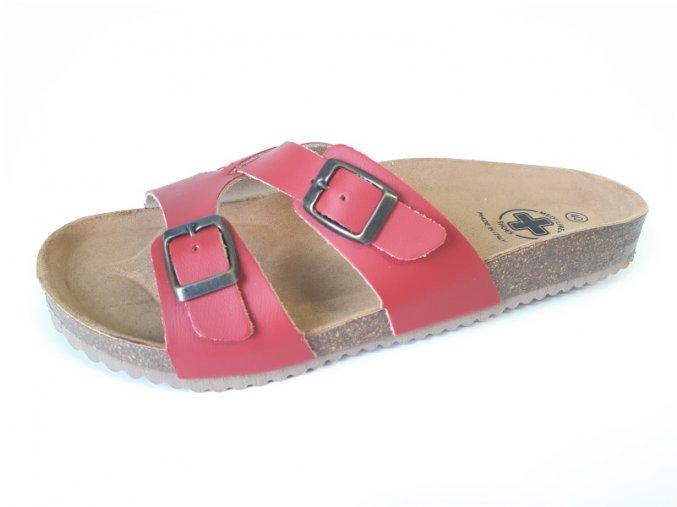 Mediline dámské pantofle 98 červené (Velikost 42)