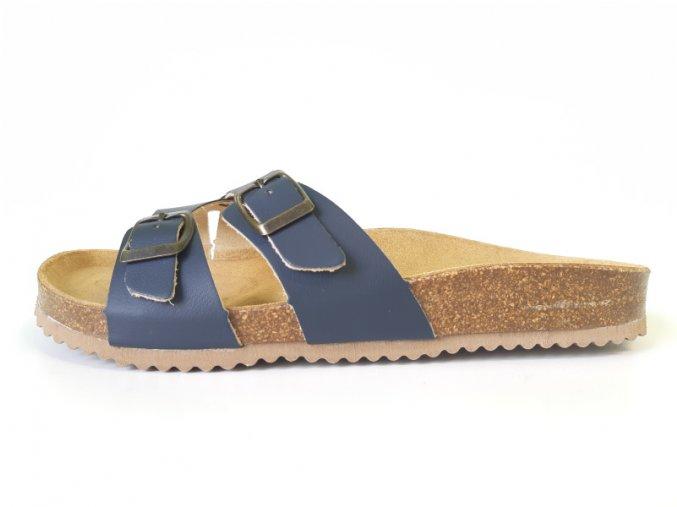 Mediline dámské pantofle 98 modré