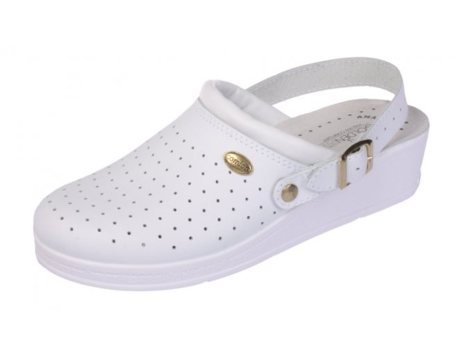 Golden Fit dámská zdravotní obuv 707 C bílá (Velikost 36)