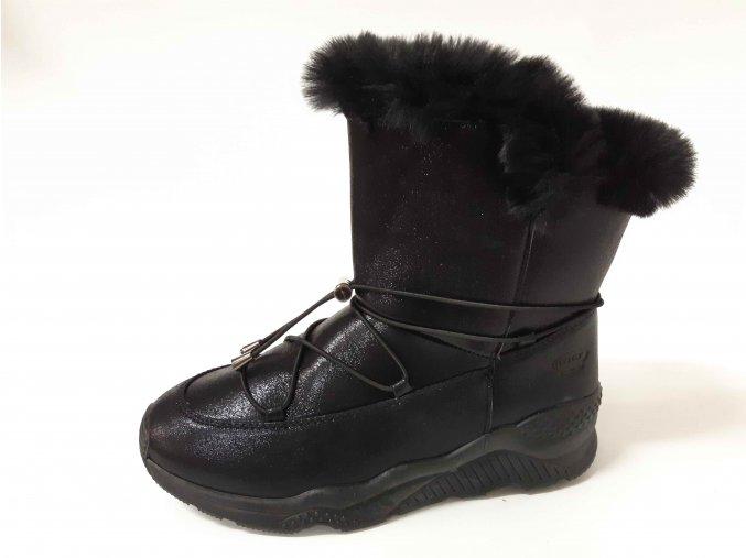 Rock Spring dámská zimní obuv Doro Met black