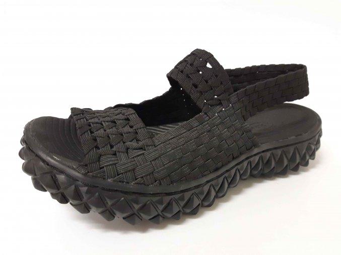 Rock Spring gumičková obuv Tropicana Black