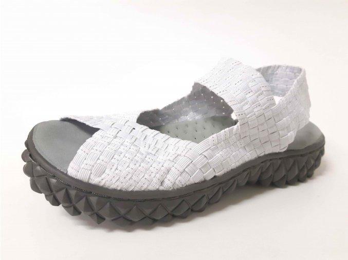 Rock Spring gumičková obuv Sofia White Silver