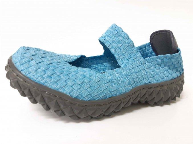 Rock Spring gumičková obuv Over Met Blue