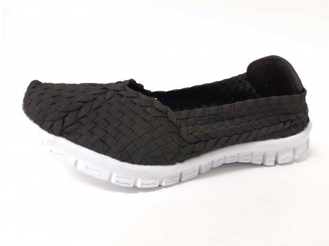 Rock Spring gumičková obuv Carioca Black