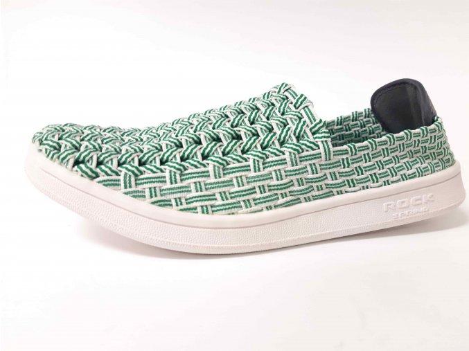 Rock Spring gumičková obuv Roxane Green Stripe
