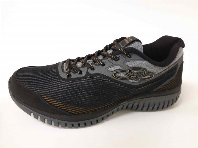 Olympikus pánská sportovní obuv Selection Black/Gold