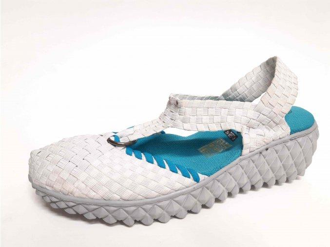 Rock Spring gumičková obuv Praia Inka White
