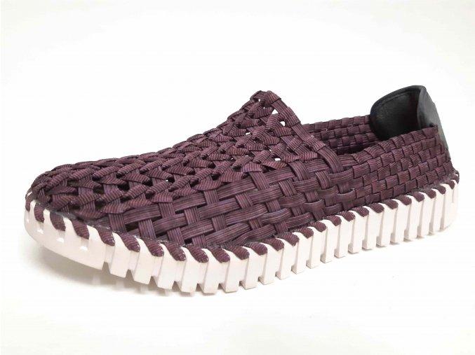 Rock Spring gumičková obuv Andante Purple Cof Smoke