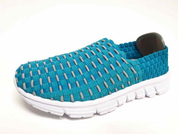 Rock Spring gumičková obuv Miky Blue Lt Grey