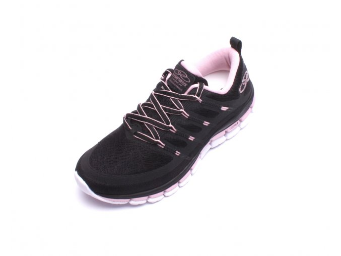 Olympikus dámská sportovní obuv Cyber Black/Pink Quartz