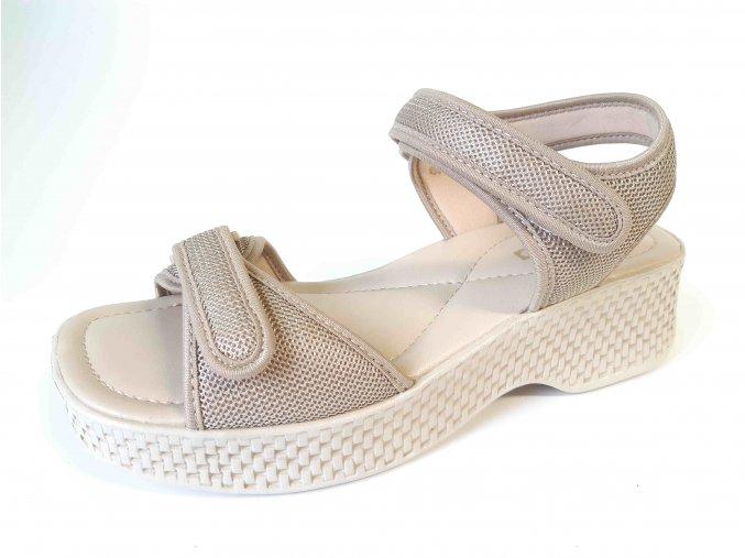 Azaleia dámské sandály 321 293 béžové