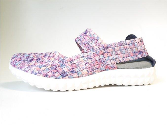Rock Spring gumičková obuv KL Pink Purple Smoke